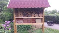 Wir bauen ein Insektenhotel