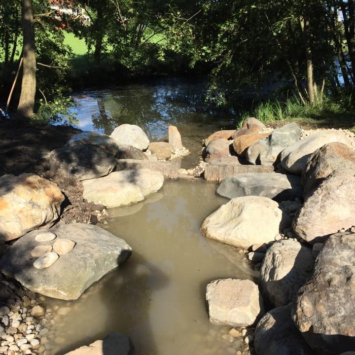 Renovierung Ilmquelle Tandern – Wasser fließt