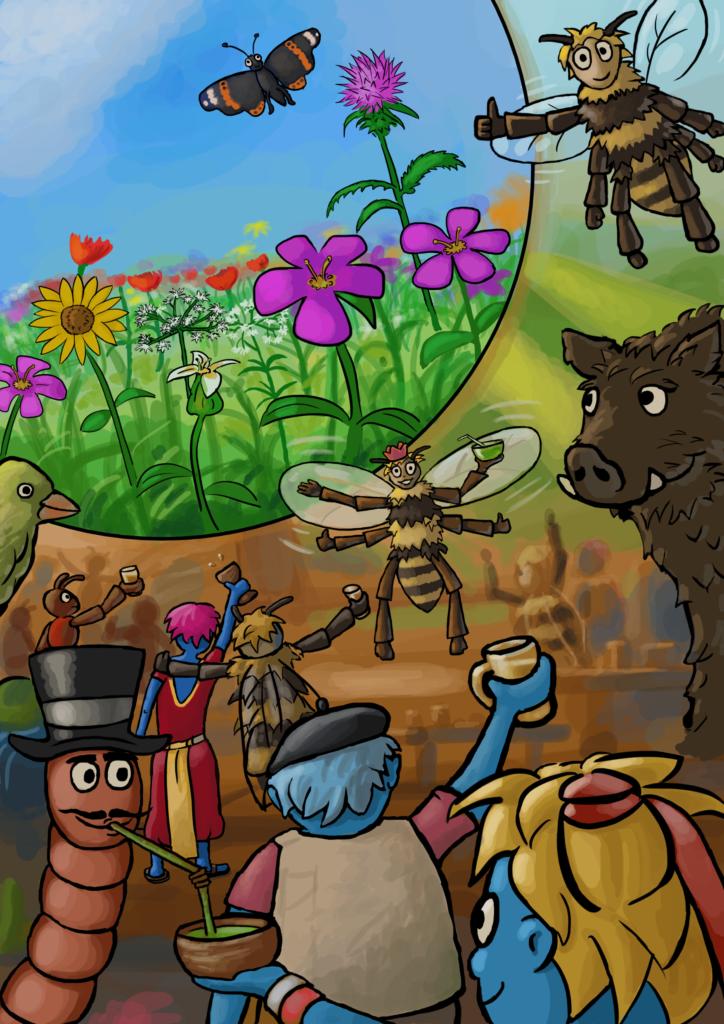 Der Meller Blühwiesenstreit – Die Gemeinschaft gewinnt
