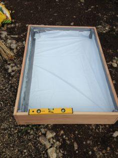 2. Schritt: Das Dach aus Douglasie vom Profi
