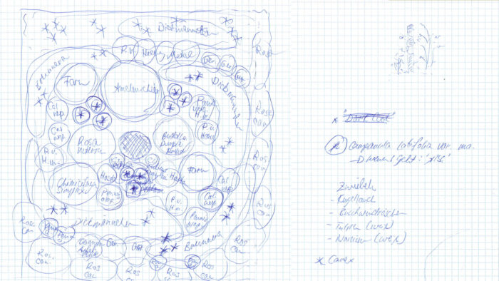 Pflanzplan