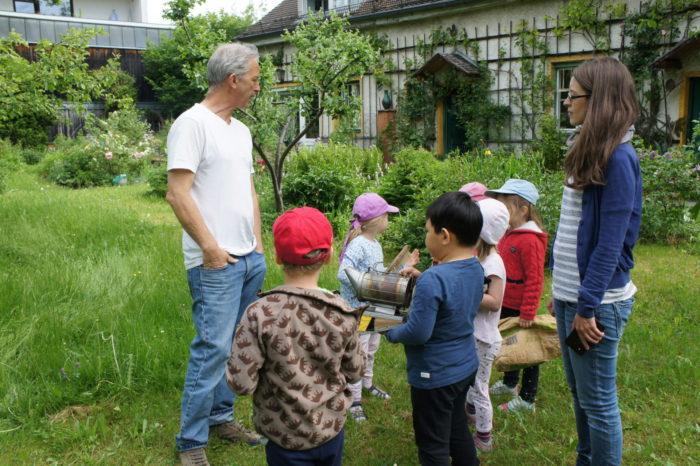 Der wunderschöne Garten von Imker Andreas Pixis in Laim!