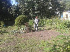 Gemeinschaftliches Graben und Buddeln