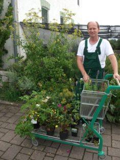 Unser Spender Baumschulengärtner Oberloher