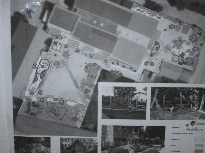 Bauplan für neuen Naturgarten