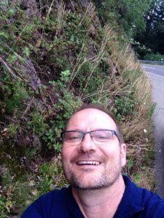 Selfie: zum Nachweis: 2. Aussaat an der Schlagfläche