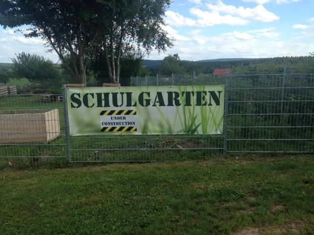Voher-Bilder: Unser Schulgarten
