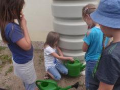 Neue Wassertonne – Regenwasser