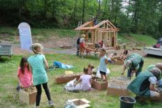 Ferienmitmachaktion für Kinder – Bau des größten Insektenhotels im Spessart