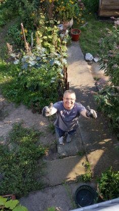 Fleißiger Gärtner