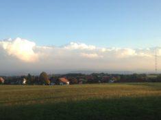 Hotzenwald: Alpenpanorma: Auch Wolken sind schön!