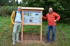 Hotzenwald: 2 Infoschilder auf dem Golfplatz aufgestellt