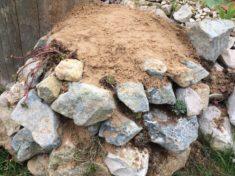 Kleines Sandarium meiner Hotspotzone angefügt